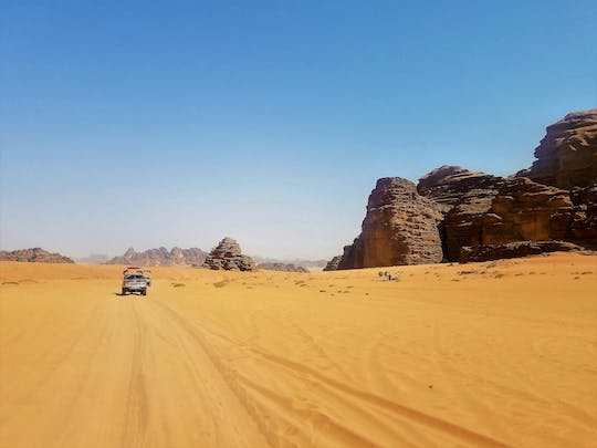 Petra & Wadi Rum 3-day tour from Jerusalem