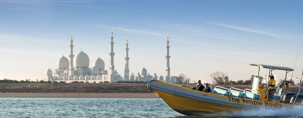 60-minute Corniche, Emirates Palace and Lulu Island boat tour in Abu Dhabi