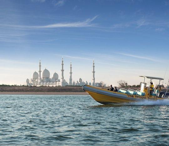 60-minute Corniche, Emirates Palace and Lulu Island boat tour in Abu Dhabi