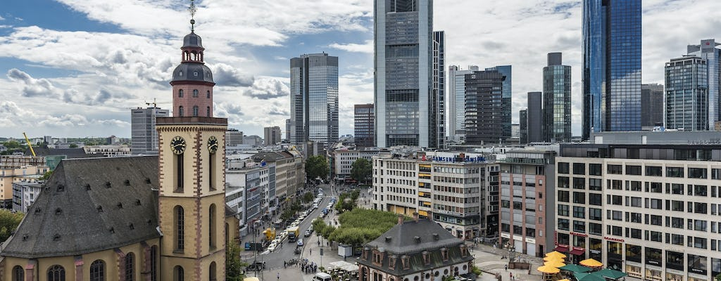 Frankfurt public walking tour