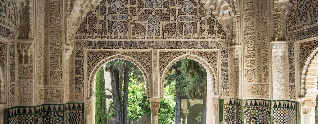 Billets pour l'Alhambra et visite guidée au départ de Séville