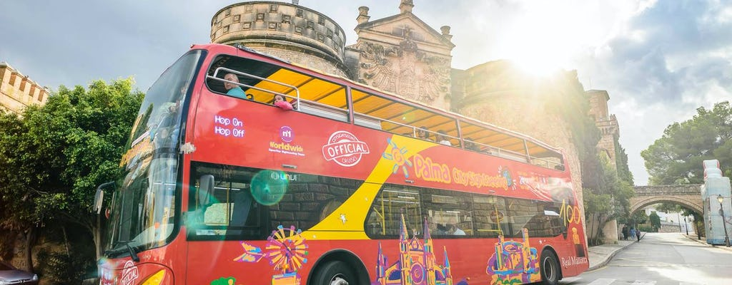 Palma de Mallorca hop-on hop-off bus and boat tour with combo option