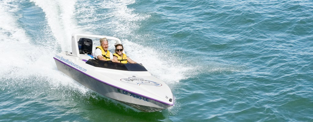 Tampa speed boat adventure tour