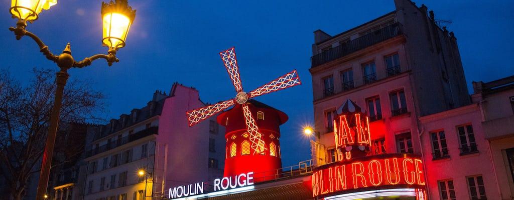 Paris illuminations tour and Moulin Rouge show