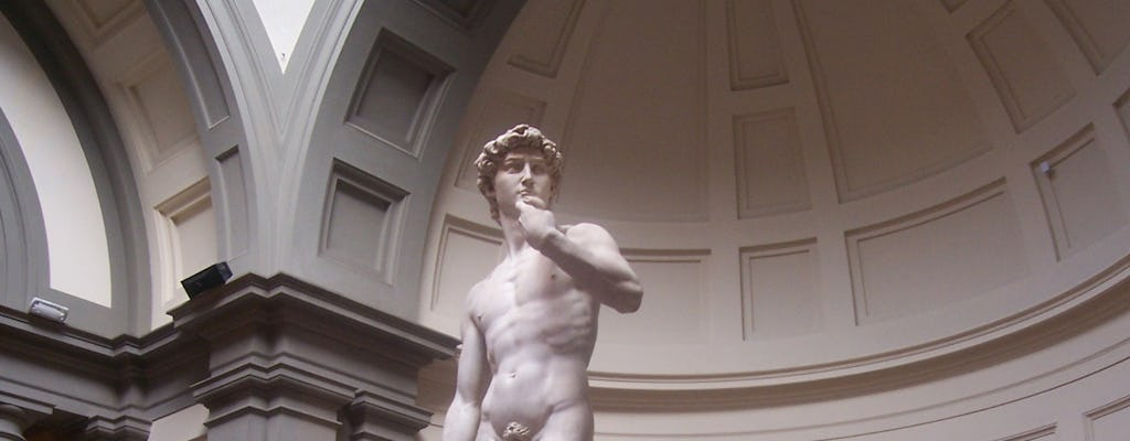 """Florence the Magnificent"" walking tour with Accademia and Uffizi"