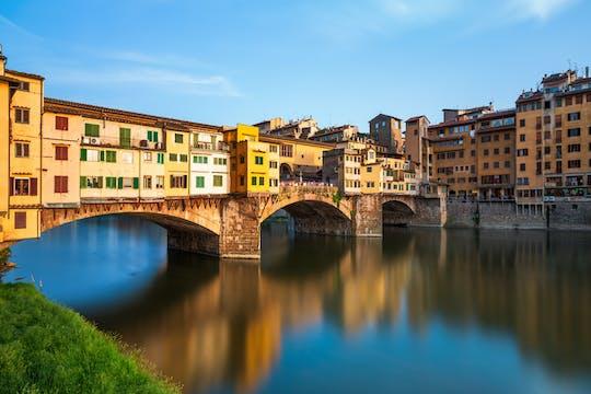Tarde especial dos Museus de Florença com Corredor Accademia, Uffizi e Vasari