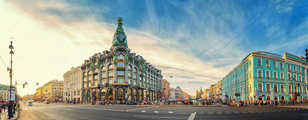 Saint Petersburg full-day city sightseeing tour with Hermitage Museum