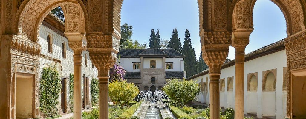 Tour guiado de Alhambra em grupo pequeno