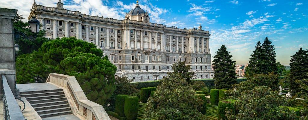 Madri em um dia: entrada antecipada no Palácio Real, com degustação de vinhos, passeio de monumento e Museu de Arte do Prado