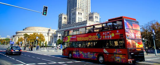 Hop-On Hop-Off Warsaw bus pass - 24, 48 or 72 hours