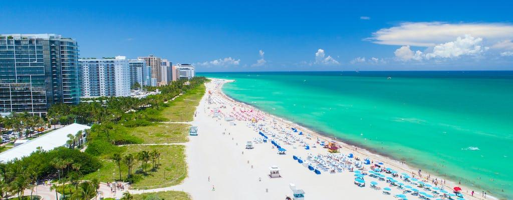 Miami hop-on hop-off tour avec le transport aller-retour d'Orlando