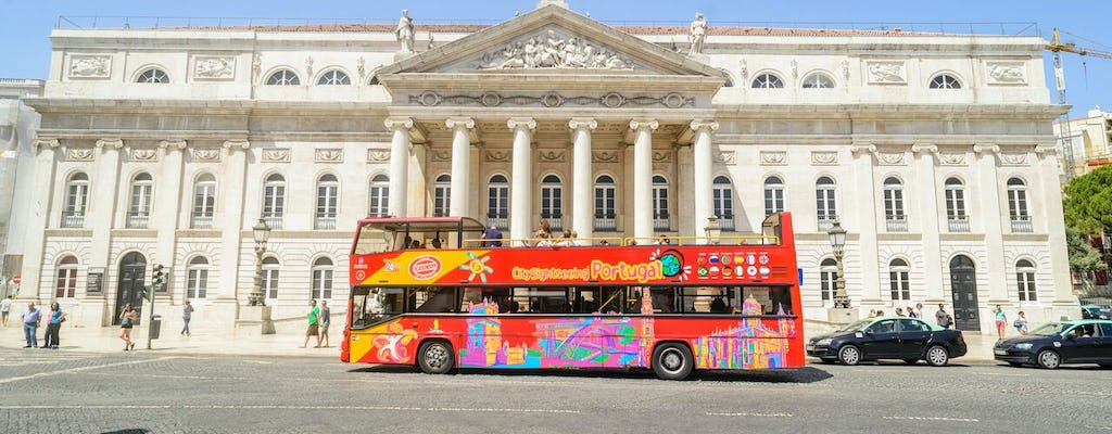 Hop-on, hop-off-bustour door Lissabon