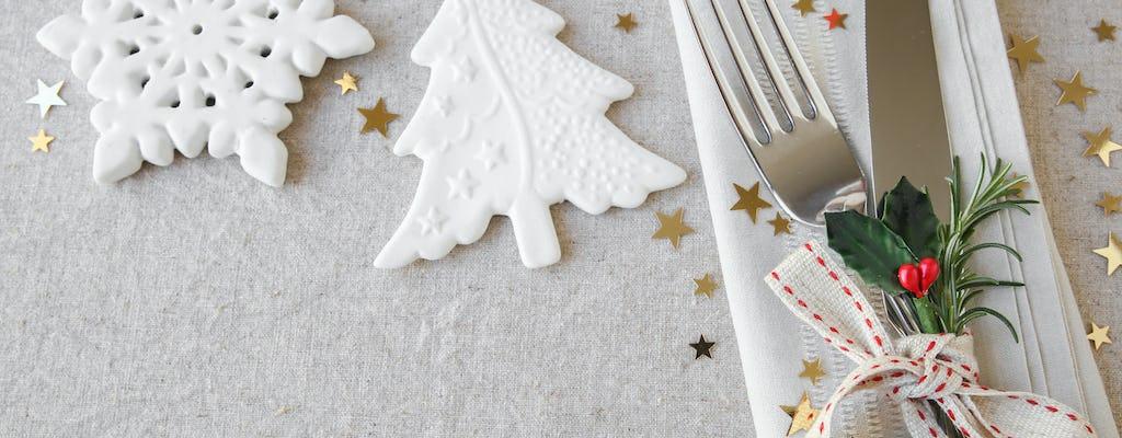 Croisière déjeuner de Noël 2019 sur la Seine