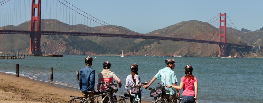 Tour guidato in bici dal Golden Gate Bridge a Sausalito