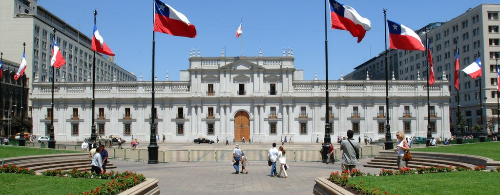 Half-day tour of Santiago in small group