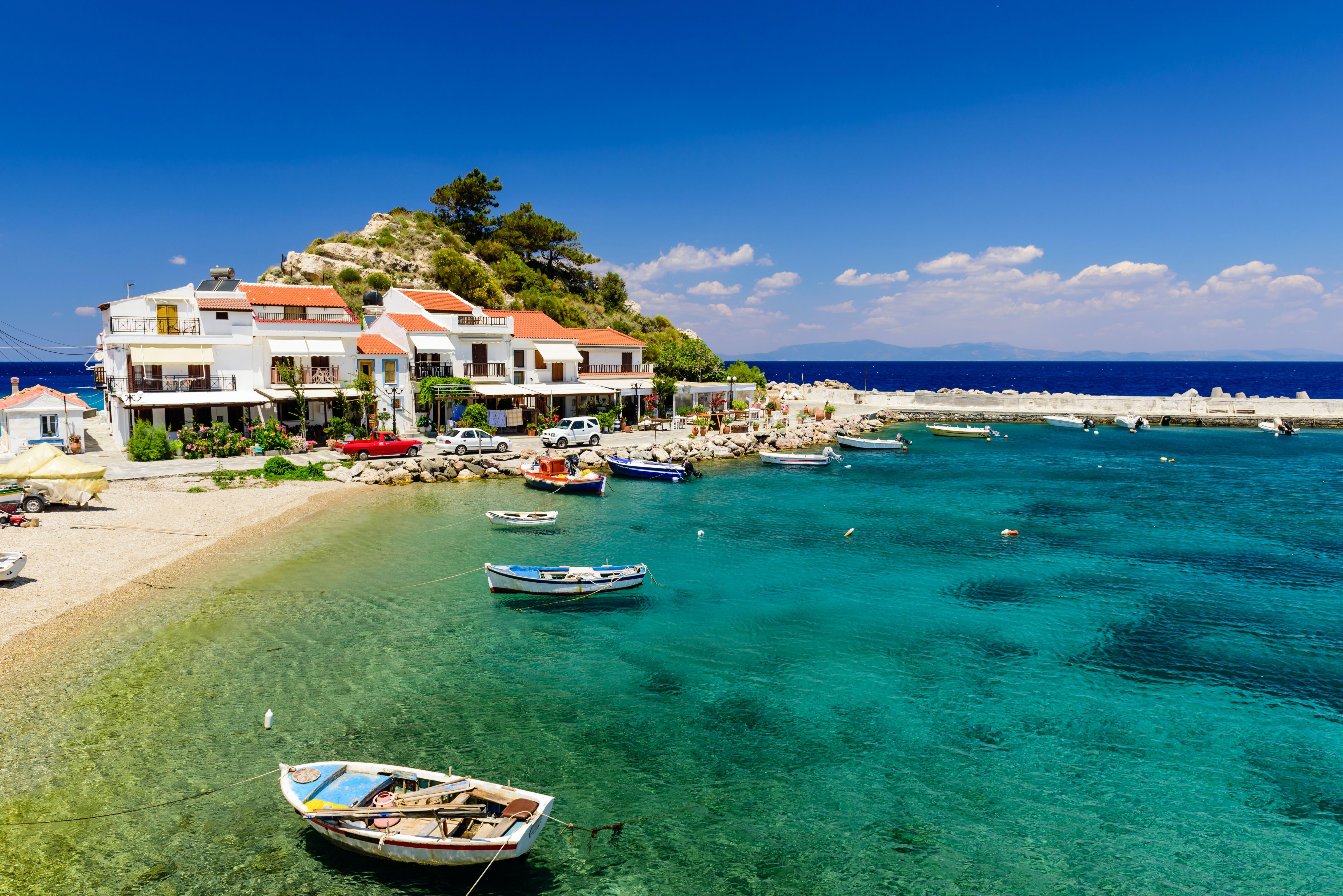 Samoksen, Kreikka