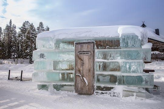 Arktyczny wieczór z sauną śnieżną