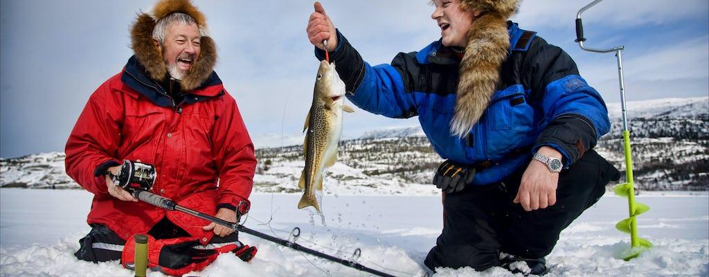 Experience Lapland: Ice fishing
