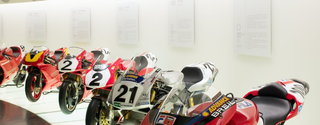 Ducati Museum and Factory tour with transfer from Bologna