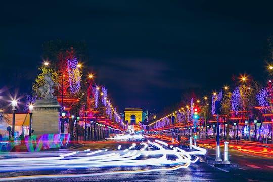 Weihnachtstour mit Champs Elysées und Arc de Triomphe