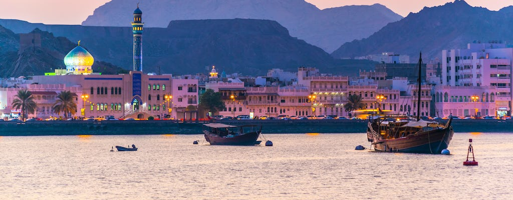 Dinner at Bustan Palace and Muscat night tour