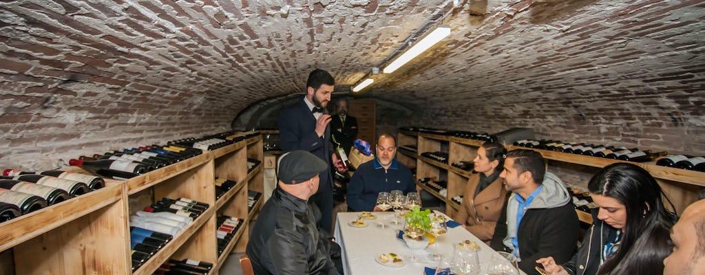 Tour noturno de gastronomia e vinhos em La Spezia