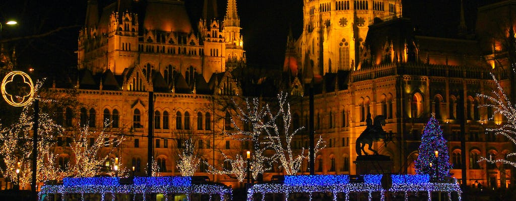 Budapest Christmas market tour with basilica visit and wine tasting