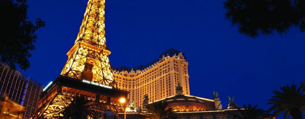 Eiffel Tower viewing deck at Paris Las Vegas tickets