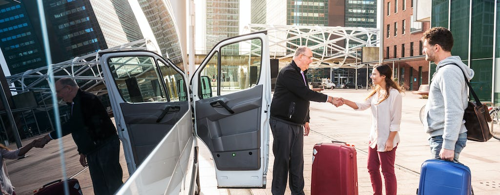 Private transfer from airport to Florence city center