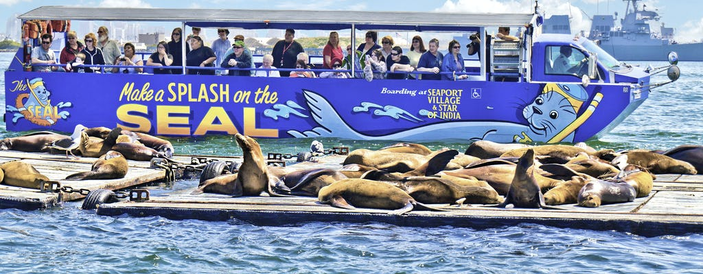 Gira de los SEAL de San Diego en Seaport Village