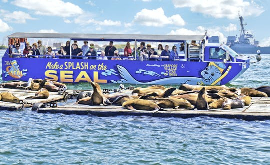 San Diego SEAL Tour w Seaport Village