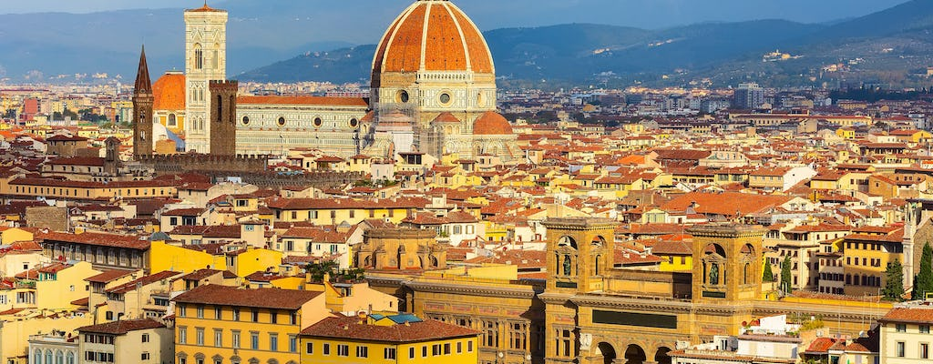 Florence City Sightseeing from Rome by high-speed train