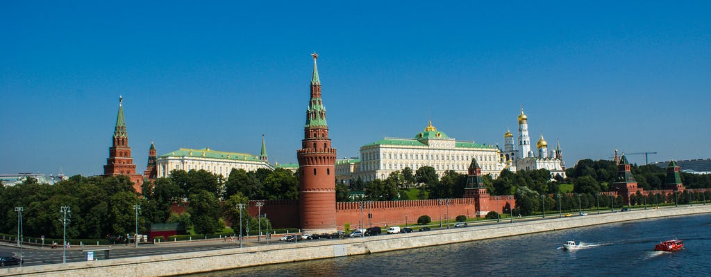 2-stündiger Moskauer Kreml Kleine Kleingruppentour