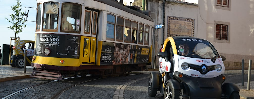 Hidden Lisbon tour on an electric vehicle with GPS audio guide