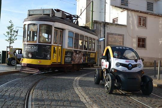 Excursão oculta por Lisboa em veículo elétrico com guia de áudio GPS