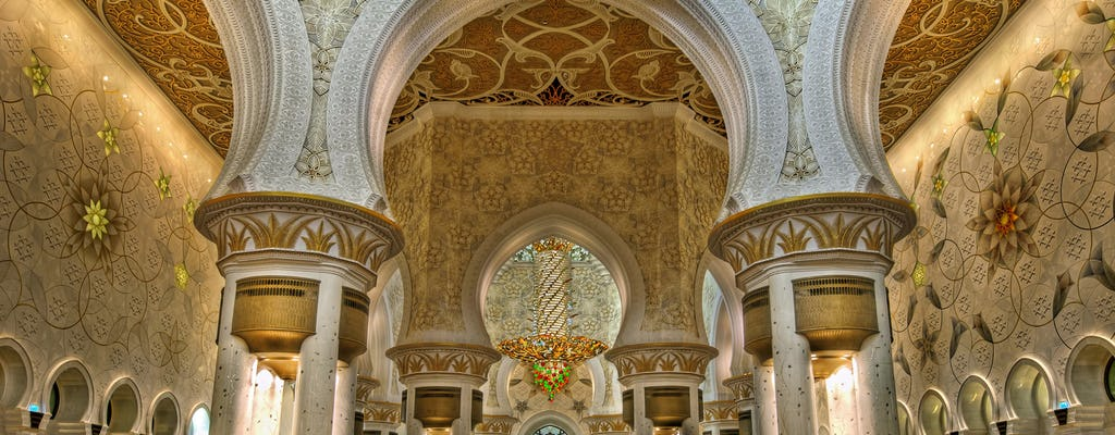 Abu Dhabi Sheikh Zayed Mosque half-day tour from Dubai