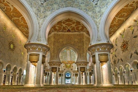 Tour di mezza giornata della Abu Dhabi Sheikh Zayed Mosque da Duba