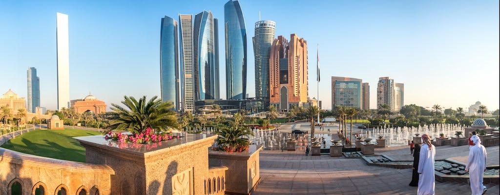 Tour por Abu Dhabi com entrada para as Torres Etihad saindo de Dubai