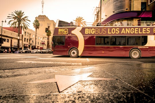 Hop-on hop-off Big Bus Los Angeles tickets
