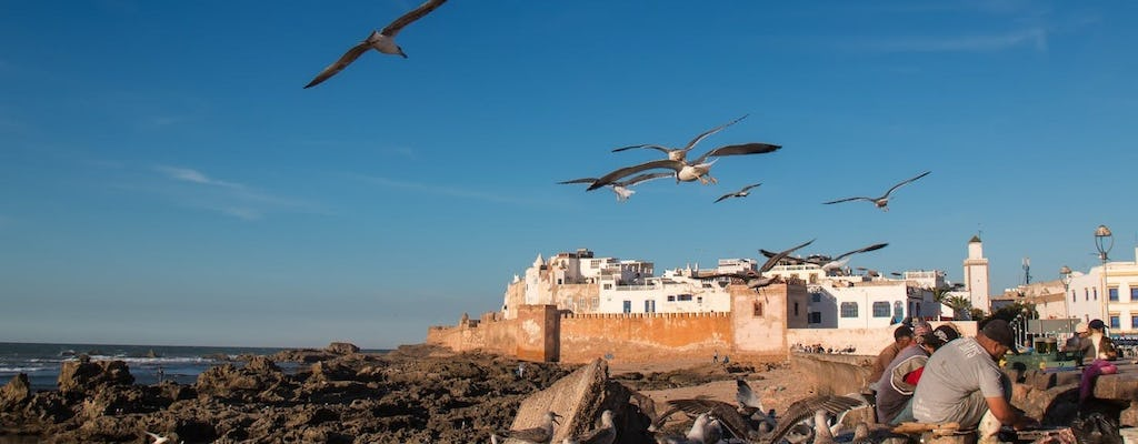Essaouira full day trip with sunset camel ride from Marrakech