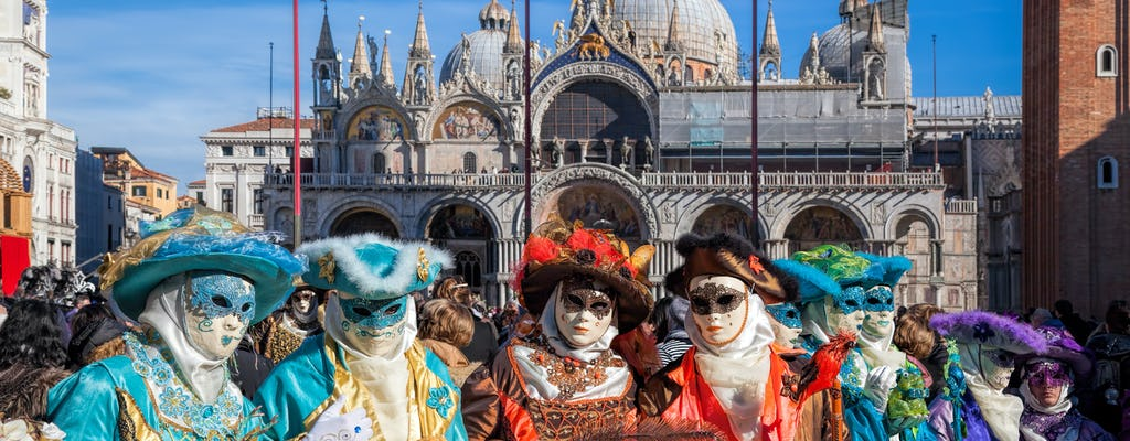 Secrets of Carnival guided tour with Giacomo Casanova