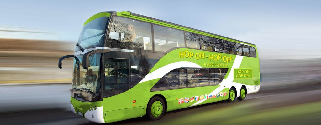 Heineken Experience with 24-hour hop-on-hop-off bus and boat