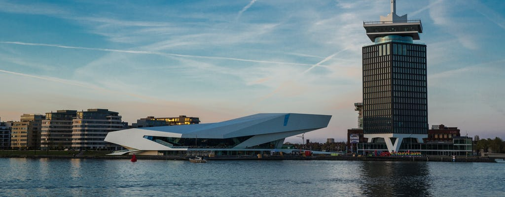 Hop-on-hop-off bus and boat for 24 hours with A'DAM Lookout