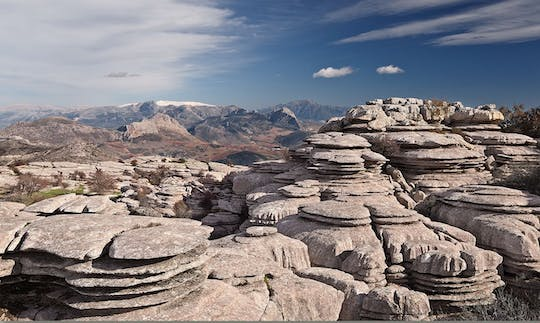 Private trekking to El Torcal from Marbella or Malaga