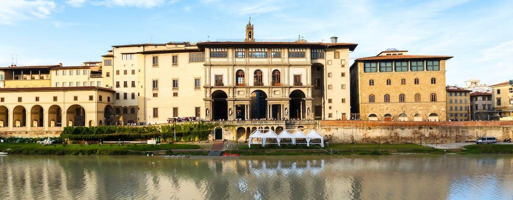 Galeria z przewodnikiem Uffizi z biletem na skip-line