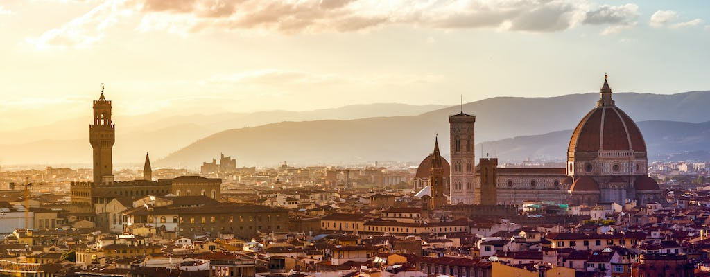 Florence treasure hunt tour with Uffizi Gallery
