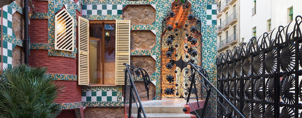 Casa Vicens, Park Güell and Sagrada Familia fast-track tickets and guided visit