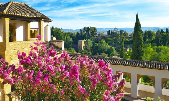 Alhambra morning guided tour with skip-the-line tickets and optional transport