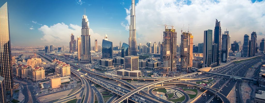 Dubai tour com jantar no dhow tradicional
