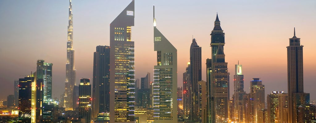 Three in one in Dubai: city tour, dhow cruise and desert safari